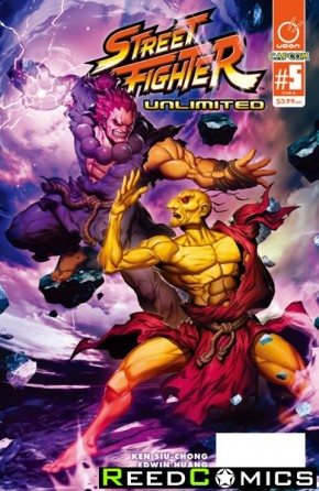 Street Fighter Unlimited #5 (Cover A)