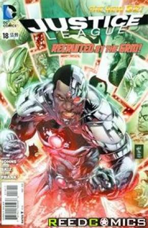 Justice League (2011) #18