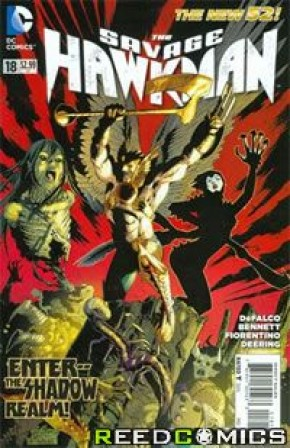 The Savage Hawkman #18