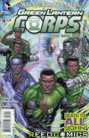 Green Lantern Corps Volume 3 #18