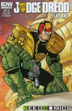Judge Dredd Year One #1 (Subscription Edition)