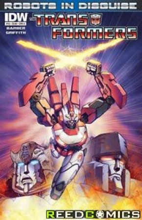Transformers Robots In Disguise Ongoing #15 (Cover A)
