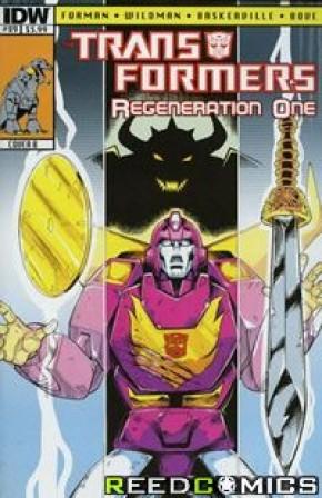 Transformers Regeneration One #89 (Cover B)