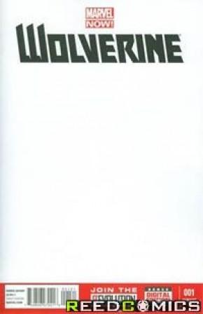 Wolverine Volume 5 #1 (Blank Variant)