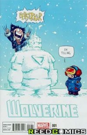 Wolverine Volume 5 #1 (Skottie Young Baby Variant Cover)