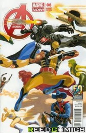 Avengers Volume 5 #8 (50th Anniversary Variant)
