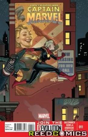 Captain Marvel Volume 6 #11