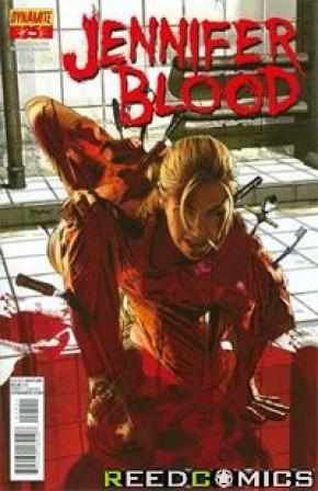 Garth Ennis Jennifer Blood #25