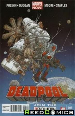 Deadpool Volume 4 #5 (2nd Print)