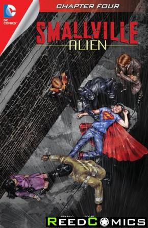 Smallville Season 11 Alien #4