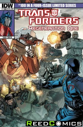 Transformers Regeneration One #100 (Subscription Variant Cover)