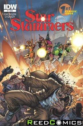 Star Slammers Remastered #1