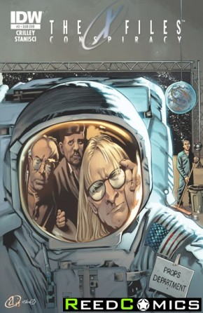 X-Files Conspiracy #2 (Subscription Variant Cover)