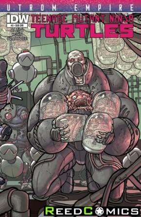 Teenage Mutant Ninja Turtles Utrom Empire #3 (Subscription Variant Cover)