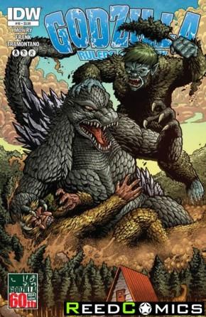 Godzilla Rulers of the Earth #10