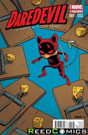 Daredevil Volume 4 #1 (Samnee Animal Variant Cover)