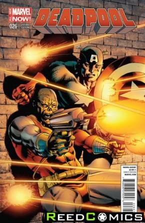 Deadpool Volume 4 #26 (1 in 20 Captain America Incentive)