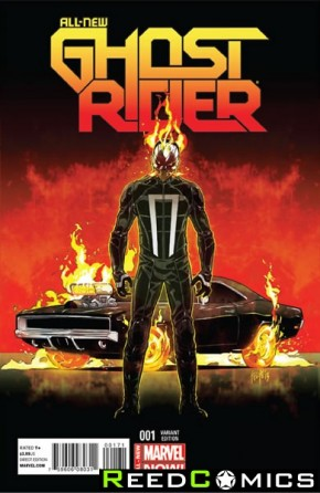 All New Ghost Rider #1 (1 in 25 Incentive)