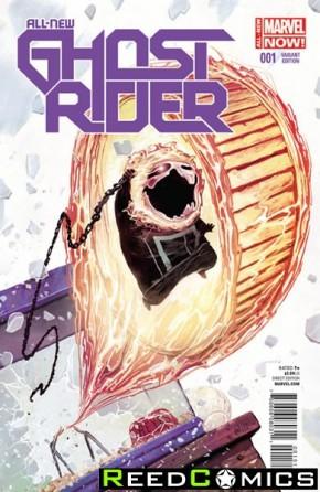 All New Ghost Rider #1 (Del Mundo Animal Variant Cover)