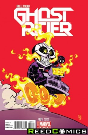 All New Ghost Rider #1 (Skottie Young Baby Variant Cover)