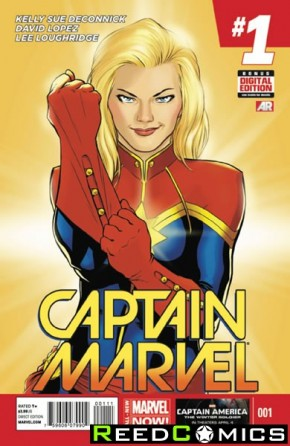 Captain Marvel Volume 7 #1
