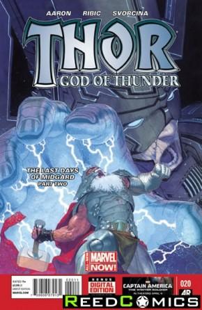 Thor God of Thunder #20