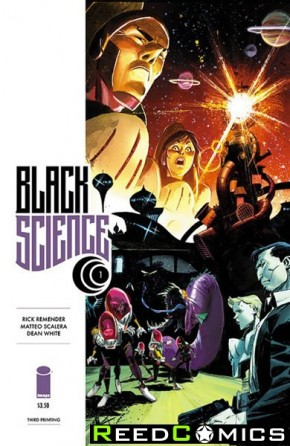 Black Science #1 (3rd Printing)