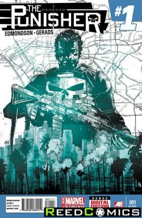Punisher Volume 9 #1 (2nd Print)