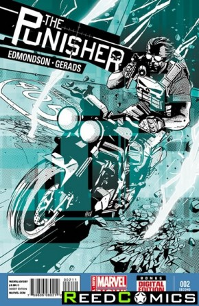 Punisher Volume 9 #2 (2nd Print)