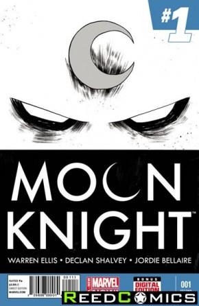 Moon Knight Volume 7 #1 (2nd Print)