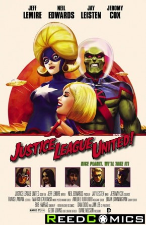 Justice League United #10 (Movie Poster Variant Edition)