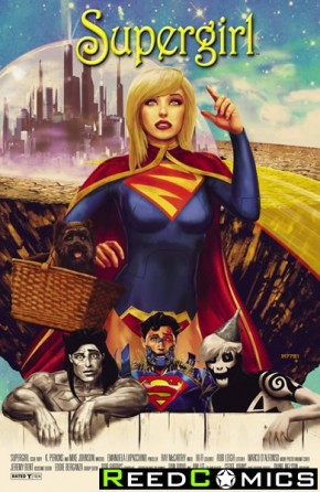 Supergirl Volume 6 #40 (Movie Poster Variant Edition)