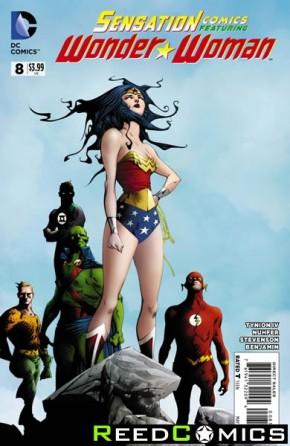 Sensation Comics Featuring Wonder Woman #8