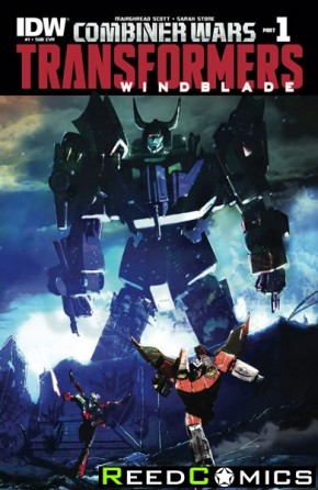 Transformers Windblade Combiner Wars #1 (Subscription Variant Cover)