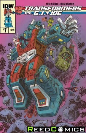 Transformers vs GI Joe #7