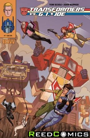 Transformers vs GI Joe #7 (Subscription Variant Cover)