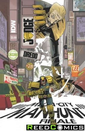 Judge Dredd Volume 4 #28