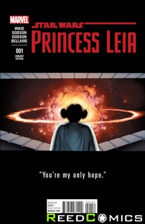 Princess Leia #1 (1 in 25 Cassady Teaser Incentive Variant)