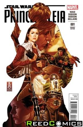 Princess Leia #1 (1 in 50 Brooks Incentive Variant)