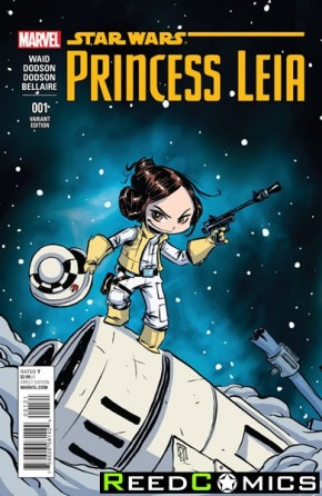 Princess Leia #1 (Skottie Young Baby Variant Cover)