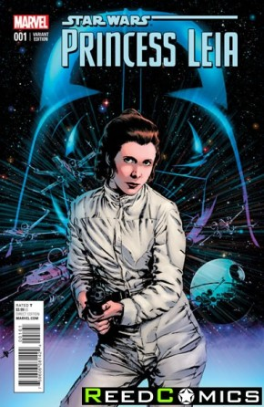 Princess Leia #1 (1 in 25 Guice Incentive Variant)