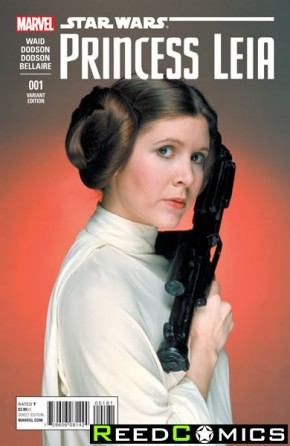 Princess Leia #1 (1 in 15 Movie Incentive Variant)