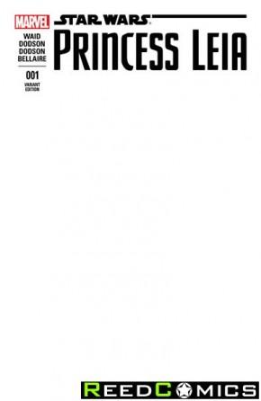 Princess Leia #1 (Blank Variant Cover)