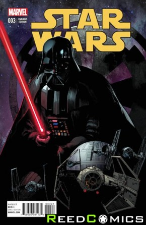 Star Wars Volume 4 #3 (1 in 25 Yu Incentive Variant Cover)