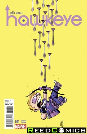 All New Hawkeye #1 (Skottie Young Baby Variant Cover)