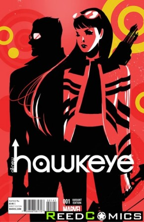 All New Hawkeye #1 (Women of Marvel Variant Cover)