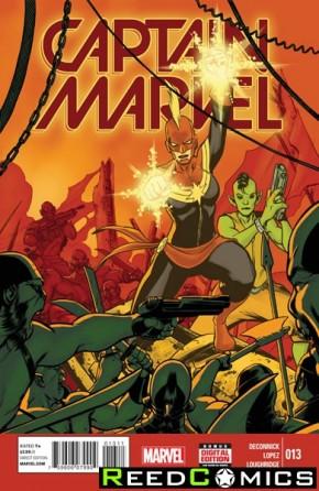 Captain Marvel Volume 7 #13