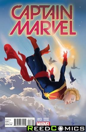Captain Marvel Volume 7 #13 (Women of Marvel Variant Cover)