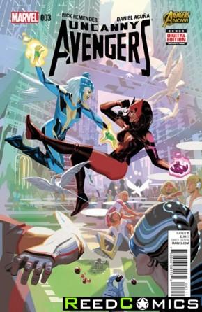 Uncanny Avengers Volume 2 #3