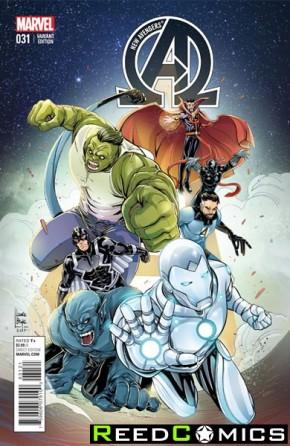 New Avengers Volume 3 #31 (Women of Marvel Variant Cover)
